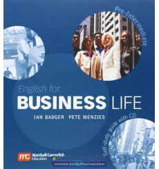 English for Business Life Pre-Intermediate Self-Study Guide + Audio CD ISBN 9780462007601 купить Киев Украина