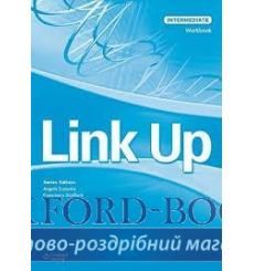 Тетрадь Link Up Intermediate workbook Stafford F 9789604036035 купить Киев Украина