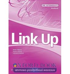 Тетрадь Link Up Pre-Intermediate workbook with overprint Key Stafford F 9789604037384 купить Киев Украина