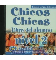 Chicos Chicas 2 CD audio Palomino, M ISBN 9788477117858 купить Киев Украина