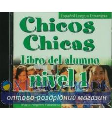 Chicos Chicas 1 CD audio Palomino, M ISBN 9788477117759 купить Киев Украина