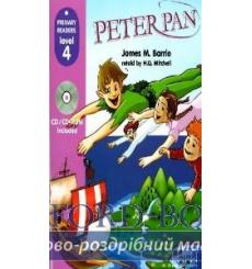 Level 4 Peter Pen with CD-ROM Barrie, J 9789604434350 купить Киев Украина