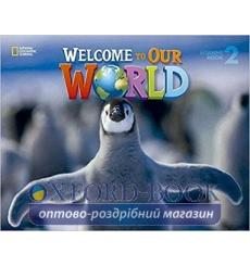 Книга Welcome to Our World 2 Big Book Crandall, J ISBN 9781305585416 купить Киев Украина