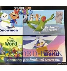 Книга Welcome to Our World 3 Big Book Crandall, J ISBN 9781305585423 купить Киев Украина