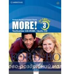Тесты More! Second edition 3 Testbuilder CD-ROM/Audio CD Cassidy, H ISBN 9781107663350 купить Киев Украина