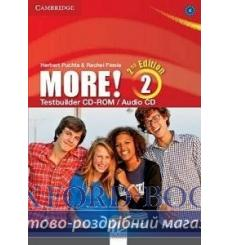 Тесты More! Second edition 2 Testbuilder CD-ROM/Audio CD Cassidy, H ISBN 9781107679627 купить Киев Украина
