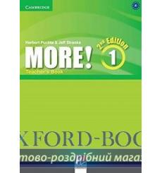 Книга для учителя More! 1 Teachers Book Puchta, H 3rd Edition 9781107689695 купить Киев Украина
