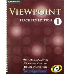 Viewpoint 1 Teachers Edition with Assessment Audio CD/CD-ROM McCarthy, M ISBN 9781107601536 купить Киев Украина
