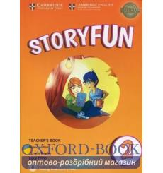 Storyfun for Starters Level 2 Teachers Book with Audio Saxby, K 3rd Edition 9781316617090 купить Киев Украина