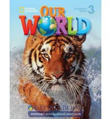 Тетрадь Our World 3 Grammar workbook Crandall J 9781337292863 купить Киев Украина
