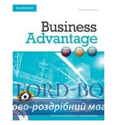 Книга Business Advantage Intermediate Personal Study Book with Audio CD 9781107692640 купить Киев Украина