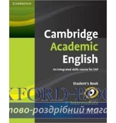 Учебник Cambridge Academic English b1+ Intermediate students book Thaine C 9780521165198 купить Киев Украина