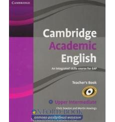 Книга для учителя Cambridge Academic English B2 Upper Intermediate Teachers Book Sowton, Ch 9780521165266 купить Киев Украина
