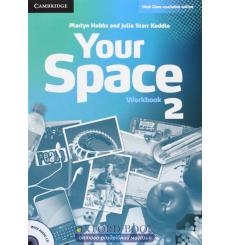 Тетрадь Your Space Level 2 workbook with Audio CD Hobbs M 9780521729291 купить Киев Украина
