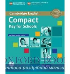Тетрадь Compact Key for Schools workbook without answers with Audio CD 9781107618800 купить Киев Украина