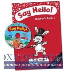 Книга для учителя Say Hello! 1 Teachers Book with CD-ROM ISBN 9781905085750 купить Киев Украина