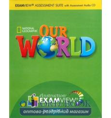 Our World 1-3 Examview CD-ROM Crandall, J ISBN 9781285461113 купить Киев Украина