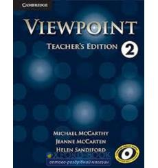 Viewpoint 2 Teachers Edition with Assessment Audio CD/CD-ROM McCarthy, M ISBN 9781107601567 купить Киев Украина