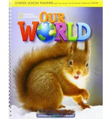 Our World Starter Lesson Planner + Audio CD + Teachers Resource CD-ROM Crandall, J ISBN 9781305391451 купить Киев Украина