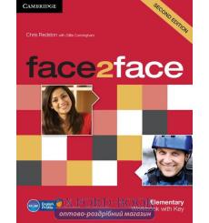 Тетрадь Face2face Elementary Workbook with Key Redston 3rd Edition 9780521283052 купить Киев Украина