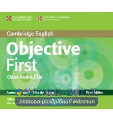 Диск Objective First Third edition Class Audio CDs (2) Capel, A ISBN 9780521178815 купить Киев Украина
