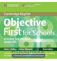 Тесты Objective First Third edition For Schools Practice Test Booklet without answers Chilton, H ISBN 9781107648920 купить Ки...