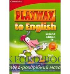 Playway to English 3 dvd PAL Gerngross G 2nd Edition 9780521131346 купить Киев Украина