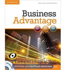 Учебник Business Advantage Advanced Students Book with DVD Lisboa M 9780521181846 купить Киев Украина