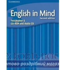 Тесты English in Mind 5 Testmaker Audio CD/CD-ROM Ackroyd S 2nd Edition 9780521184618 купить Киев Украина