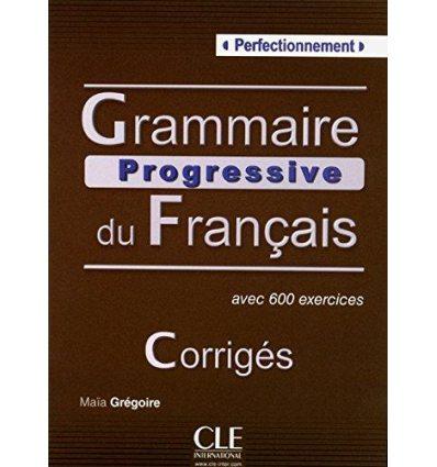 Грамматика Grammaire Progressive du Francais Perfectionnement Corriges ISBN 9782090353600