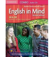 English in Mind Combo 1A and 1B Audio CDs (3) Puchta H 2nd Edition 9780521183192 купить Киев Украина
