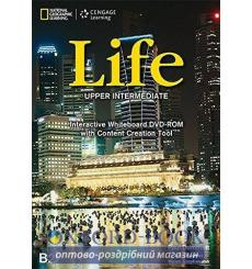 Life Upper-Intermediate Interactive Whiteboard DVD-ROM Dummett, P ISBN 9781133318378 купить Киев Украина