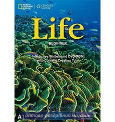 Life Beginner Interactive Whiteboard DVD-ROM Dummett, P ISBN 9781133318330 купить Киев Украина
