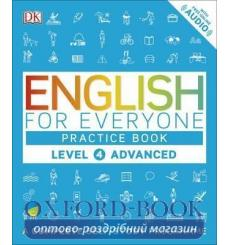 Книга English for Everyone 4 Advanced Practice Book: A Complete Self-Study Programme ISBN 9780241243534 купить Киев Украина