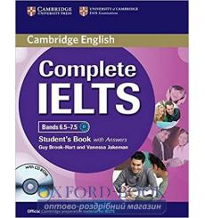 Учебник Complete IELTS Bands 6.5-7.5 Students Book with Answers with CD-ROM Brook-Hart, G ISBN 9781107625082 купить Киев Украина