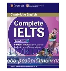 Учебник Complete IELTS Bands 6.5-7.5 Students Book without Answers with CD-ROM ISBN 9781107657601 купить Киев Украина
