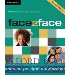 Тетрадь Face2face Intermediate Workbook with Key Tims, N  3rd Edition 9781107609549 купить Киев Украина