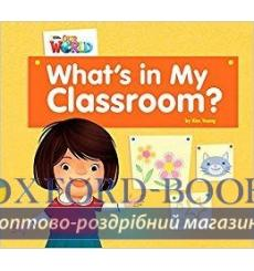 Книга Our World Big Book 1: Whats In My Classroom? Young, K ISBN 9781285191744 купить Киев Украина