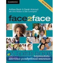 Тесты Face2face Intermediate Testmaker Audio CD Bazin A 2nd Edition 9781107609969 купить Киев Украина