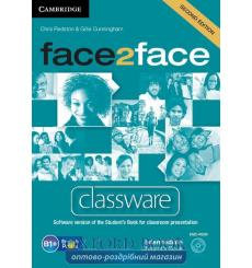Face2face Intermediate Classware dvd-ROM Redston Ch 2nd Edition 9781107693043 купить Киев Украина