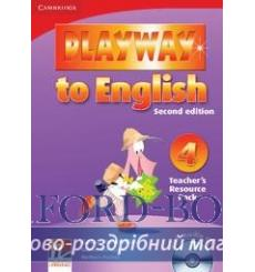 Playway to English 4 Teachers Resource Pack with Audio CD Gerngross G 2nd Edition 9780521131490 купить Киев Украина