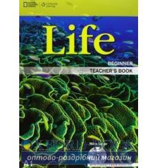 Книга для учителя Life Beginner Teachers Book with Audio CD Dummett, P ISBN 9781133316114 купить Киев Украина