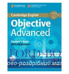Учебник Objective Advanced Students Book without Answers with CD-ROM 3rd Edition 9781107674387 купить Киев Украина