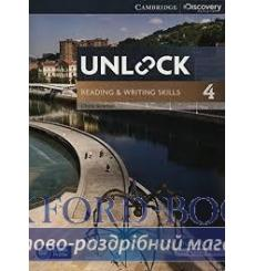 Учебник Unlock 4 Reading and Writing Skills Students Book and Online Workbook Sowton Ch 9781107615250 купить Киев Украина