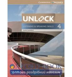 Учебник Unlock 4 Listening and Speaking Skills Students Book and Online Workbook Lansford L 9781107634619 купить Киев Украина