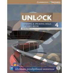 Книга для учителя Unlock 4 Listening and Speaking Skills Teachers Book with DVD Day, J 9781107650527 купить Киев Украина