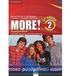 Учебник More! 2 Students Book with Cyber Homework and Online Resources Puchta, H 3rd Edition 9781107694781 купить Киев Украина