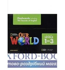 Книга Our World 1-3 Flashcard Set Crandall, J ISBN 9781285760858 купить Киев Украина