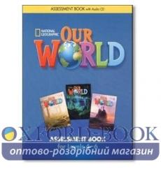 Our World 4-6 Assessment Book with Assessment Audio CD Pinkley, D ISBN 9781285456218 купить Киев Украина