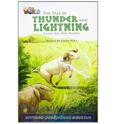Книга Our World Reader 5: Tale of Thunder and Lightning Pioli, C ISBN 9781285191409 купить Киев Украина